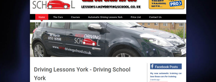 MSW driving school